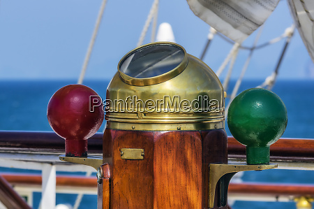 thailand sailing ship compass