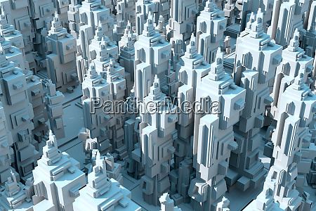 3d rendered illustration abstract conceptual render