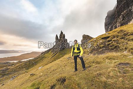 uk scotland isle of skye portrait