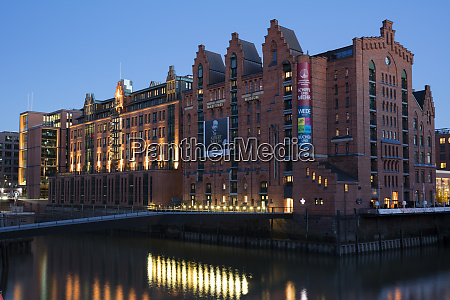 germany hamburg speicherstadt international maritime museum