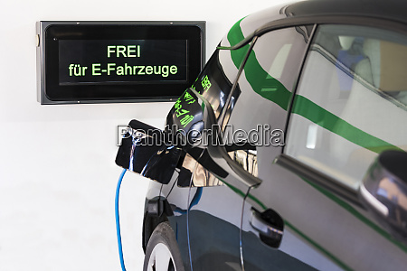 charging station for an electric car