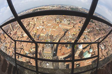 italy bologna italy bologna cityscape seen