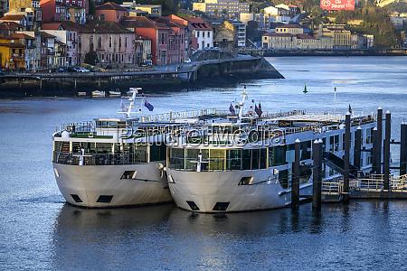 ships in douro river ribeira portos