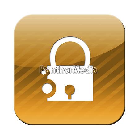 a padlock icon security symbol