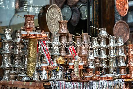 ornate souvenirs in sarajevo bosnia