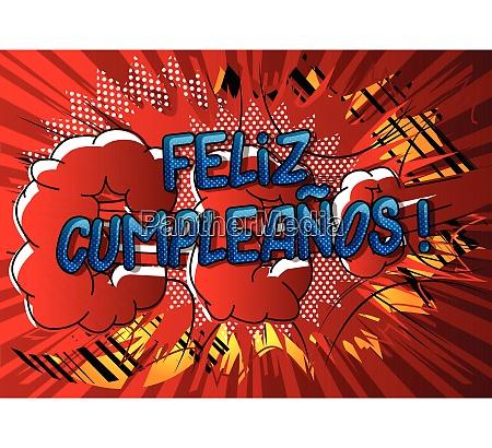 feliz cumpleanos happy birthday in spanish