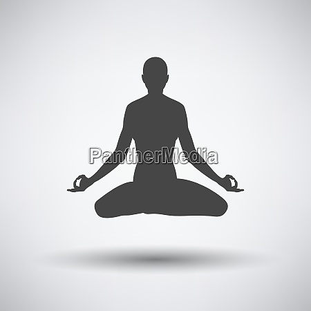 lotus pose icon