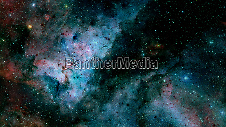 abstract bright colorful universe nebula night