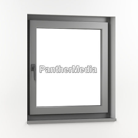 grey plastic window