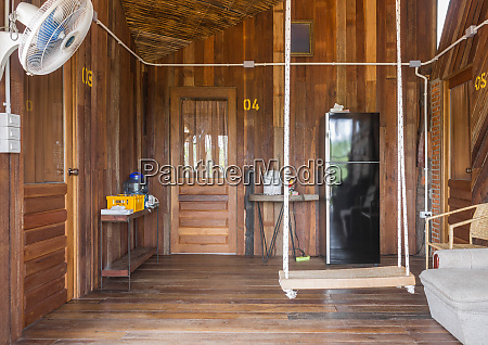 rope swing in country interior design