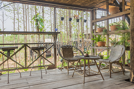 interior design room of home stay