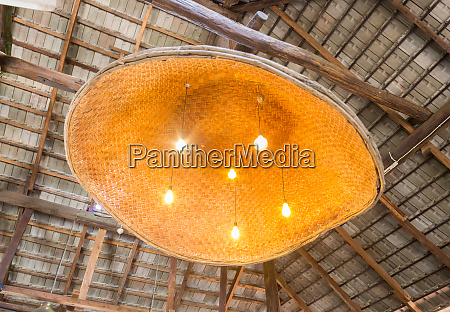 ceiling lamp in country style