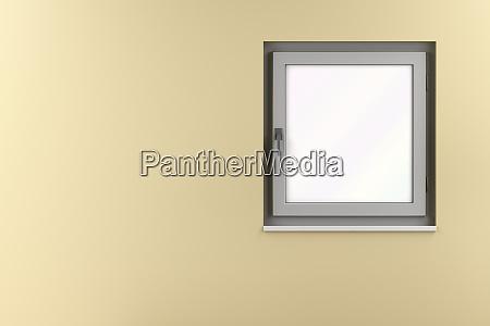 grey pvc window