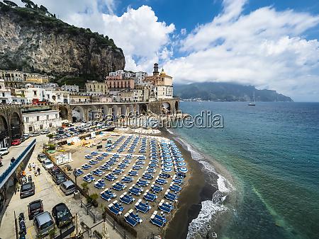 italy campania amalfi coast lido of