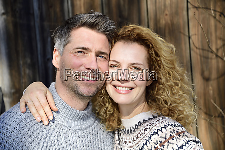 germany bavaria portrait of happy couple