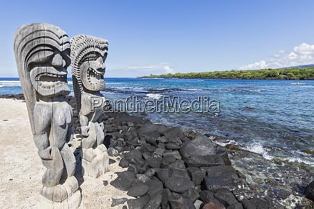 usa hawaii big island puuhonua o