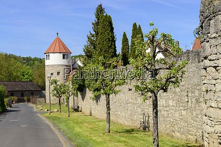 germany bavaria franconia lower franconia eibelstadt