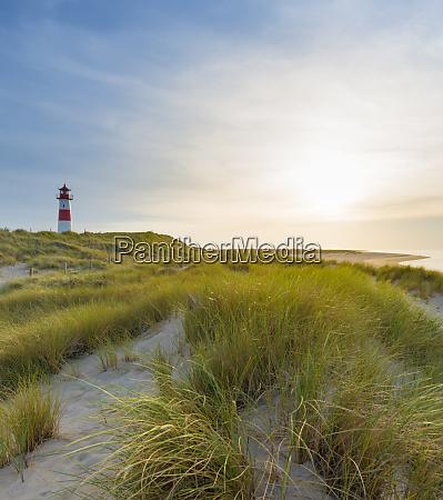 germany sylt list lighthouse