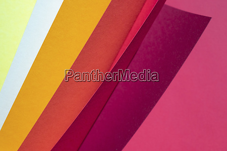 color spectrum papers as an abstract