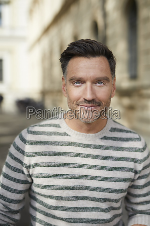 portrait of confident man in the