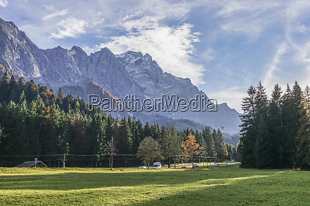germany garmisch partenkirchen grainau view to