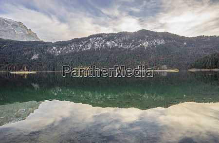 germany garmisch partenkirchen lake eibsee