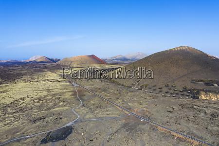 spain canary islands lanzarote volcano garachico