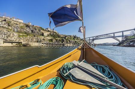 portugal porto douro river pleasure boat