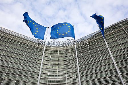 belgium brussels berlaymont building european commission