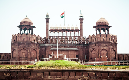 red fort delhi india 1 may