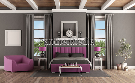 master bedroom in classic style with
