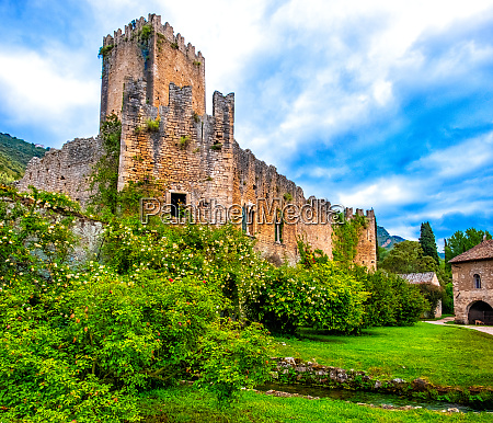 castle of ninfa ruins and garden