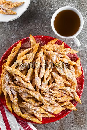 angel wing or bowtie cookies