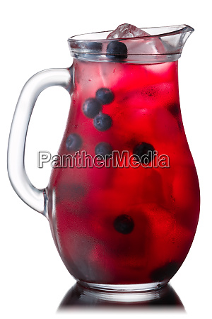 iced blueberry drink pitcher paths