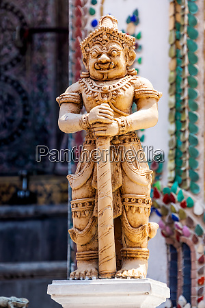 demon guardian at wat phra kaew
