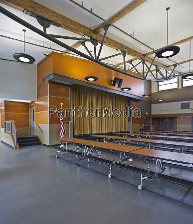 grade school cafeteria