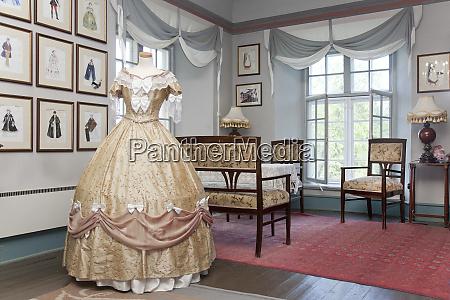 ornate dress and classic fashion designs
