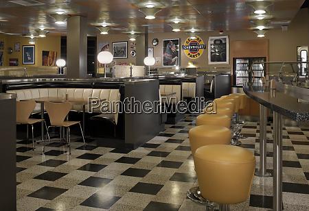 retro style diner