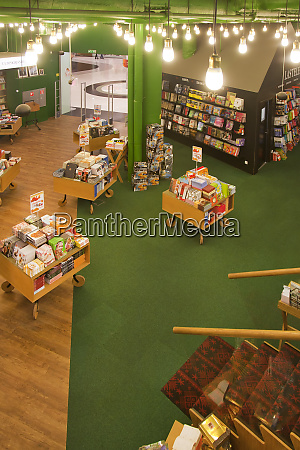 first story of a bookstore
