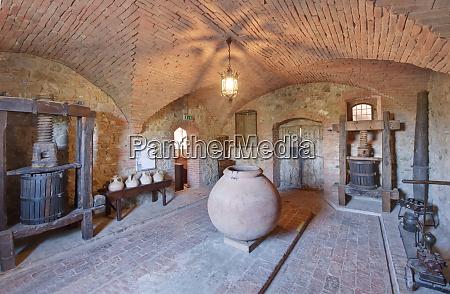 castello banfi museum