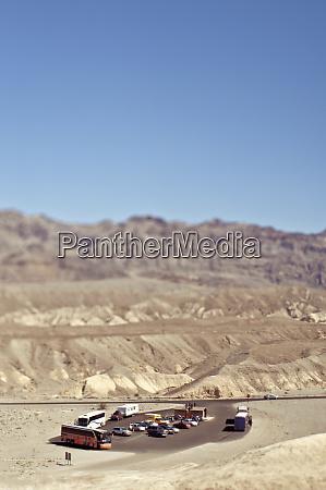 rest stop in the desert