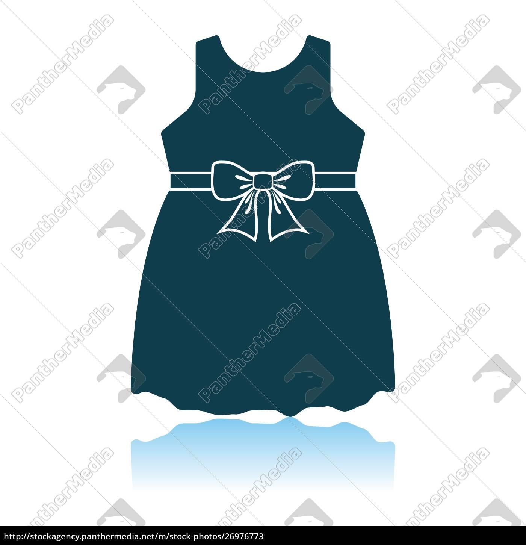 baby, girl, dress, icon - 26976773