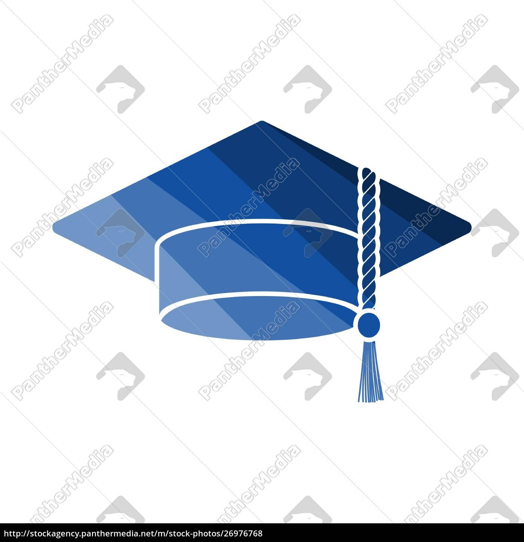 graduation, cap, icon - 26976768