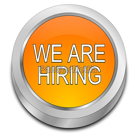 orange we are hiring button