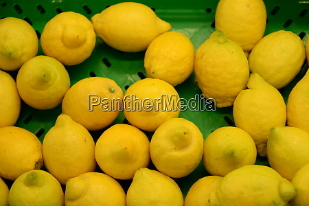 lemons at the weekly market in