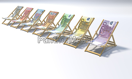 folding chairs in a range of