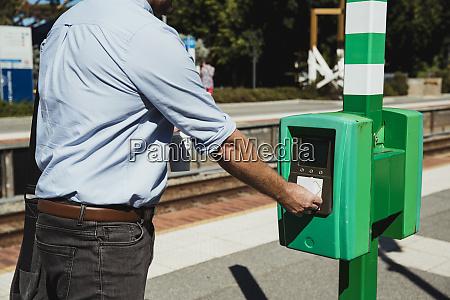 using train ticket