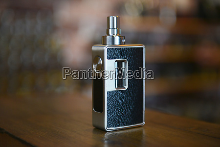electronic cigarette on a background of