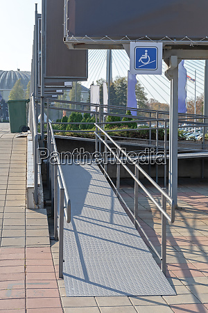 disabled ramp