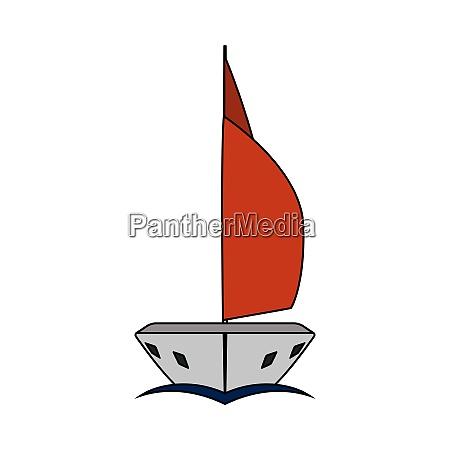 sail yacht icon